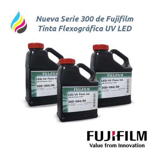Nueva Serie 300 de Fujifilm Tinta Flexográfica UV LED